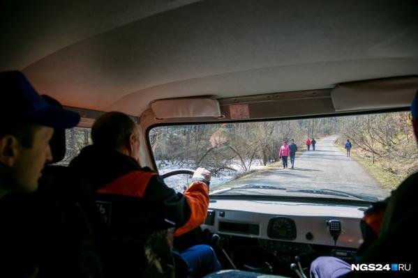 На «Столбах» у спасателей есть отдельный пункт, чтобы быстро оказывать помощь тем, кто попал в беду во время прогулок на природе
