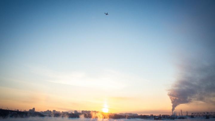 После снегопадов и метелей в Новосибирскую область придёт новое похолодание