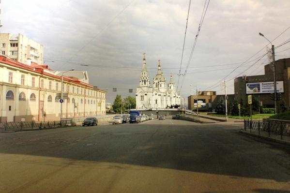 Как будет выглядеть центр после строительства храма