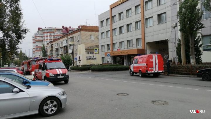 В Волгограде загорелся «Конфил»