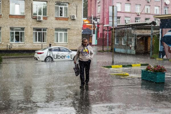Синоптики говорят, что в конце недели в Новосибирске будет дождливо