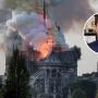 Скандально известный бизнесмен Лекторович предложил свою систему пожаротушения для Нотр-Дама