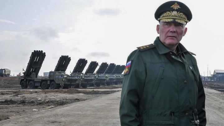 Командующему войсками ЮВО Александру Дворникову запретили въезд в Евросоюз