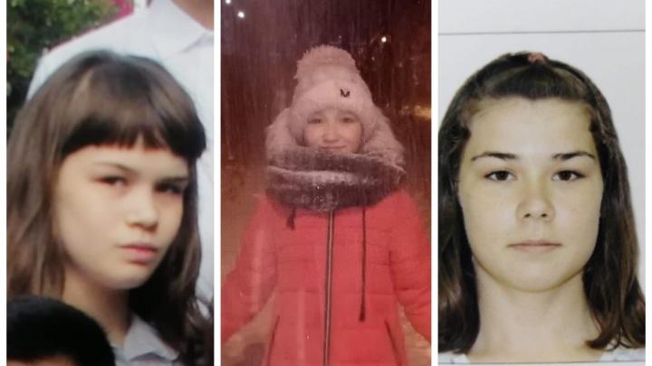 Сбор на поиски в час ночи: в Березовском пропали три девочки
