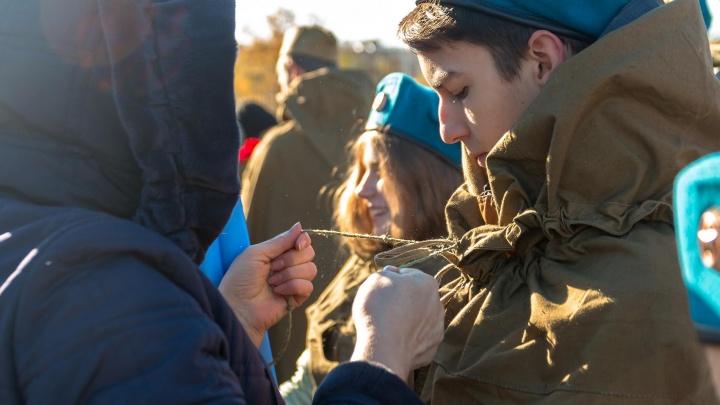 «И мама прибежала на помощь...»: как прошла репетиция парада Памяти в Самаре