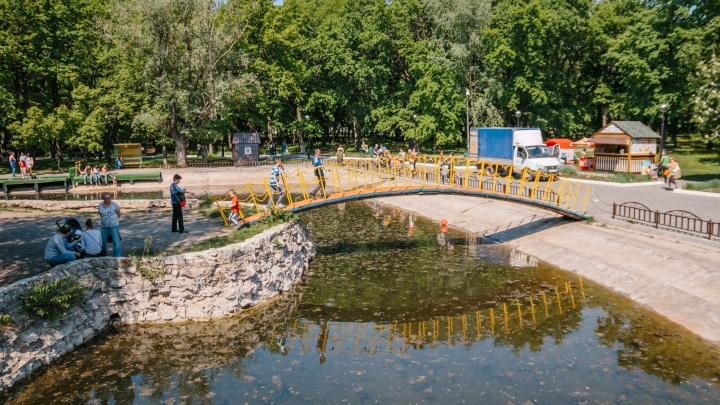 В Самаре в парке Гагарина открылся летний кинотеатр