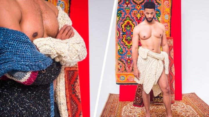 Дизайнеры с Урала устроили фотосессию с горячим французским архитектором на фоне «бабушкиных» ковров