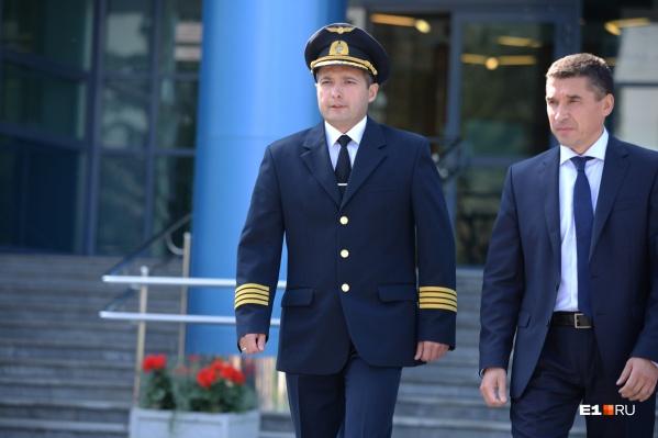 Дамир Юсупов прилетел в Екатеринбург этой ночью