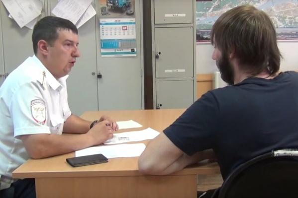 Водителя оштрафовали на 3 тысячи рублей