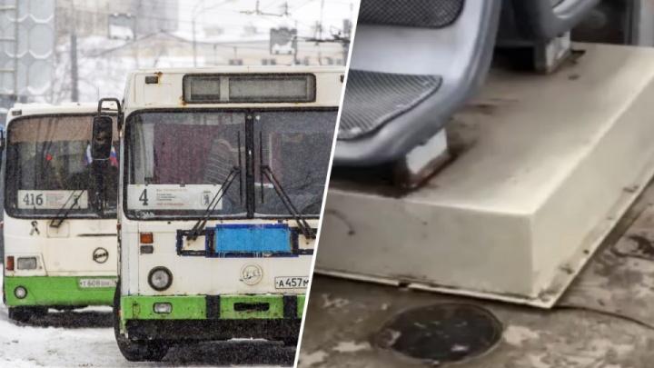 На автобусе, у которого разваливался на ходу салон, продолжат возить ярославцев