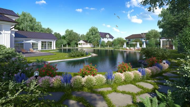 В 12 км от Екатеринбурга участки под строительство дома у озера отдадут со скидкой до 23%