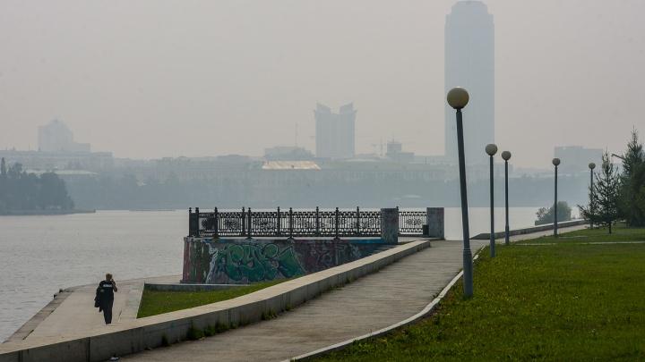 Свердловскую область на два дня окутает смог