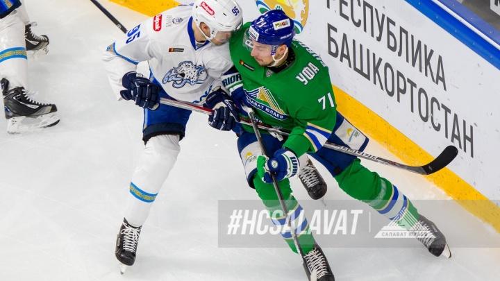 Время потаскать «барсов» за хвост: «Салават Юлаев» продолжит выездную серию против «Барыса» в Астане