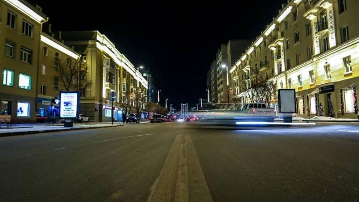 Фотограф в двух снимках показал, как изменился проспект Мира за три месяца