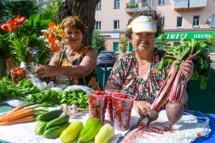 Рынок на 8 Марта — Фрунзе — то место в Екатеринбурге, где можно купить свеженькие продукты с огородов у бабушек