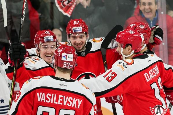 До конца регулярного чемпионата КХЛ «Автомобилист» проведет еще восемь матчей
