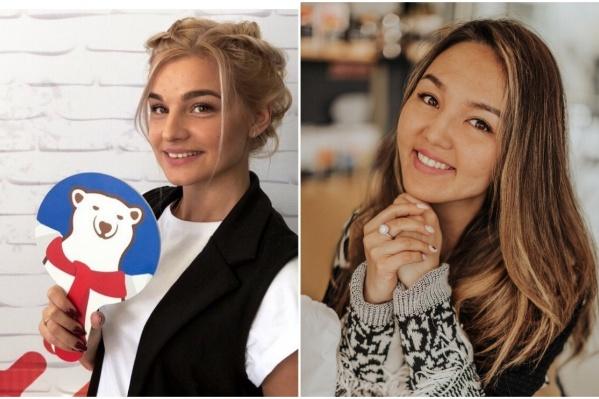 Слева — Аурика, справа — Майра. Обе девушки никогда не хотели сменить свои имена
