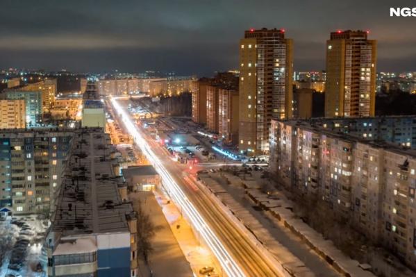 Пробка на выезде с МЖК и Плющихинского собирается каждый день