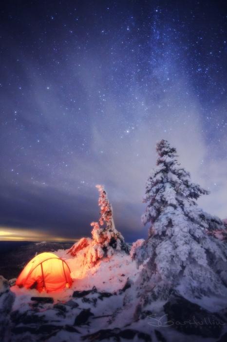 Хребет Уреньга на Южном Урале
