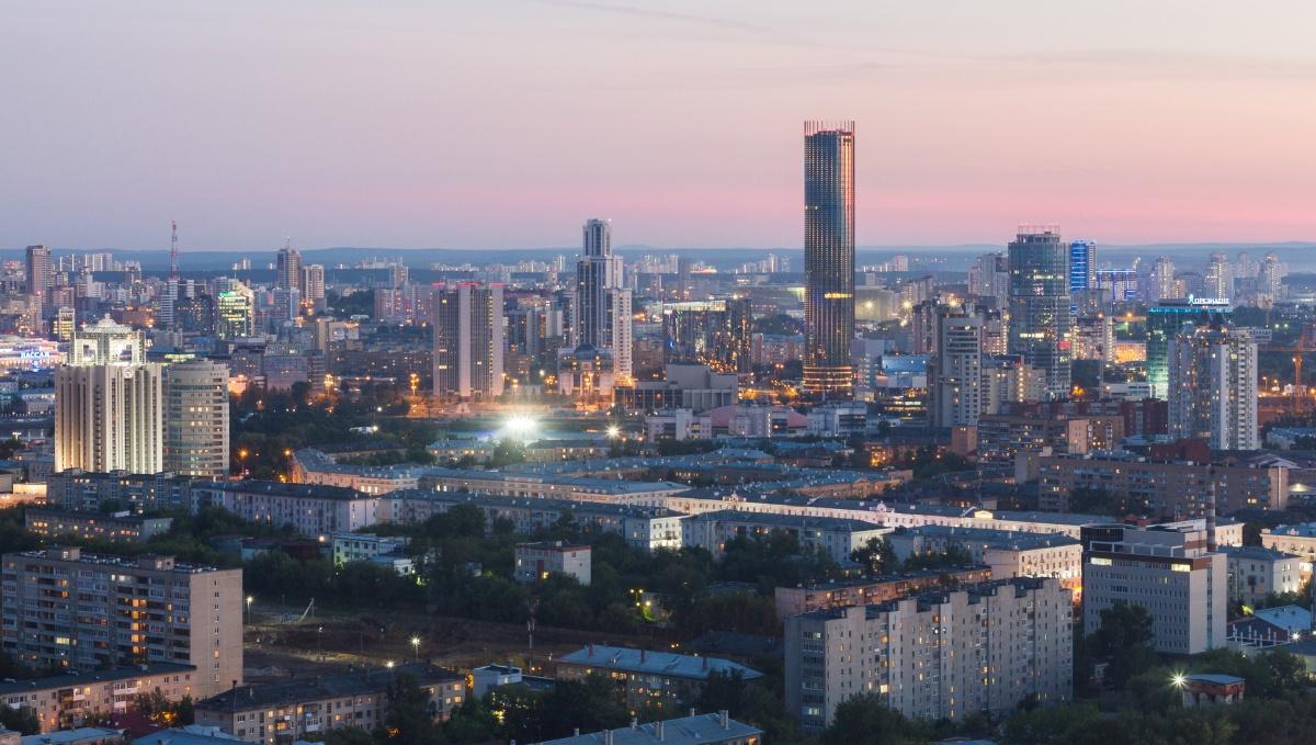 Вид из окна 26-го этажа готовой высотки «Малевича». Захватывает дух