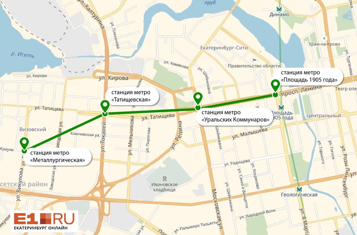 Вторая линия метро соединила центр Екатеринбурга и ВИЗ
