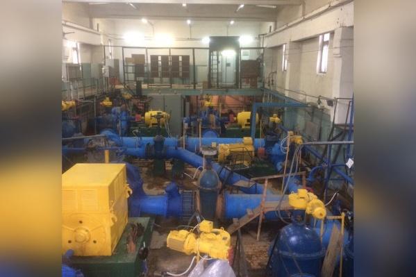 Ремонты будут проводиться наЦентральных очистных водопроводных сооружениях