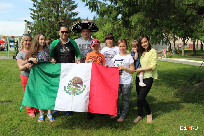 Екатеринбург стал последним городом в путешествии мексиканцев