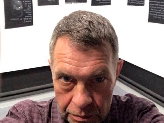 Новосибирцам показали картины с пугающим Буратино из instagram известного художника