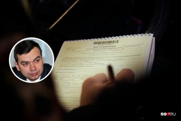 Игорь Вагин отказался подписывать протокол, но признался, что был пьян