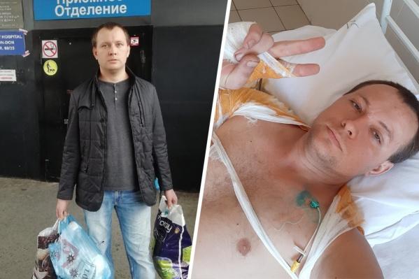 Александр Фирсов перенес операцию по пересадке кожи, но уже выписан из больницы