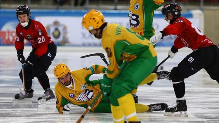 Архангельский «Водник» проиграл «СКА-Нефтянику» и вылетел из тройки лидеров чемпионата России