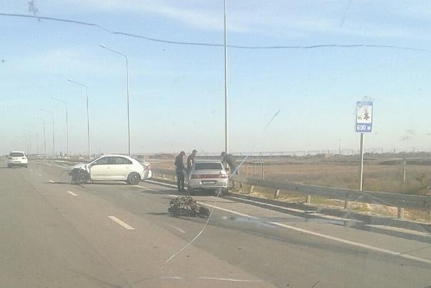 «Аж двигатель вырвало»: серьезное ДТП на трассе под Волгоградом