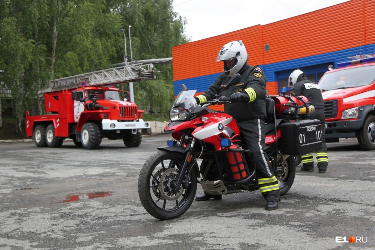 На мероприятии покажут пожарно-спасательную технику