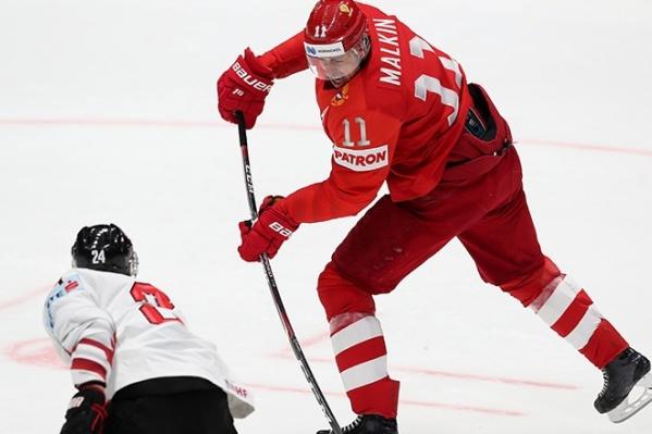 В своём втором матче на чемпионате мира Россия уверенно обыграла команду Австрии