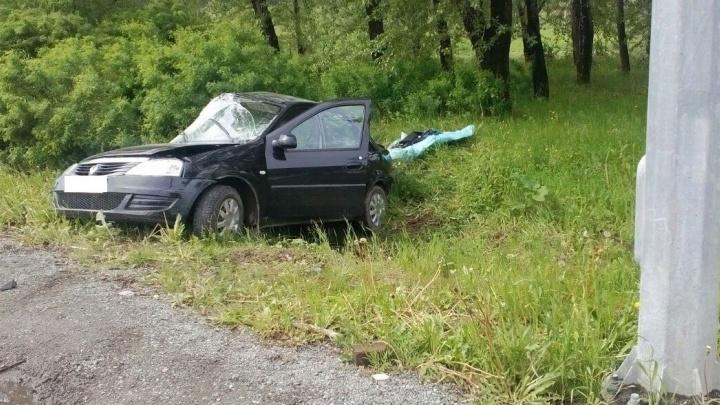 В Нижнем Тагиле пожилая пара на Renault врезалась в грузовик