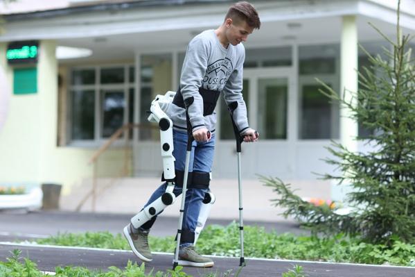 Экзоскелет может использоваться как в медицинских центрах, так и для ежедневного личного применения в быту