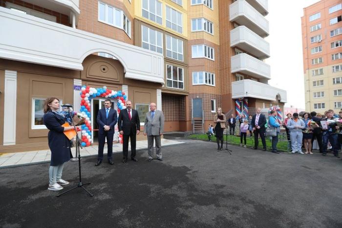 Строительство 11-этажного дома в пер. Щитковый началось в третьем квартале 2014 года. Фото: www.facebook.com/pg/minstroyrf