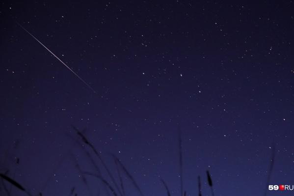 В декабре на небе можно будет наблюдать два метеорных потока