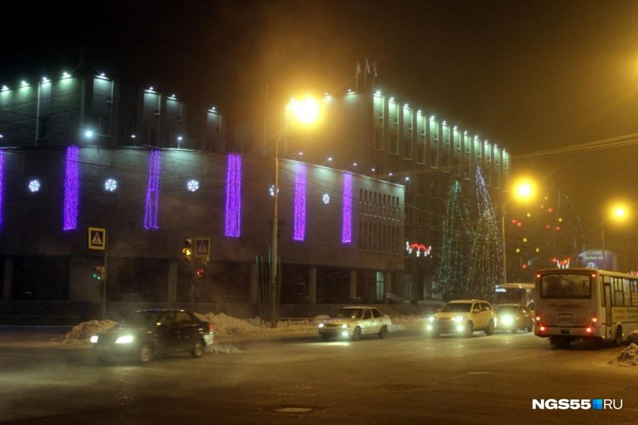 Вближайшие дни Омск накроет густой туман