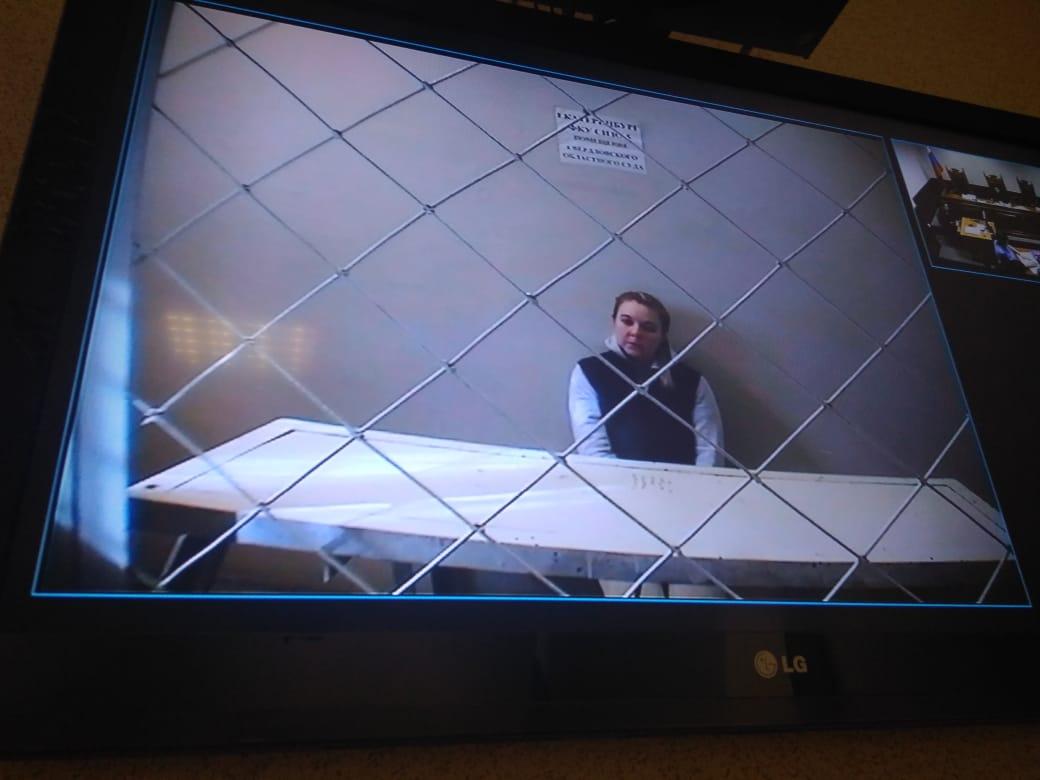 Марина Мартемьянова общалась с судом через скайп