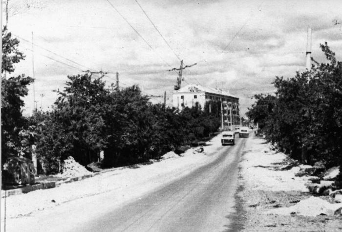 Улица Щербакова на Уктусе в шестидесятые годы
