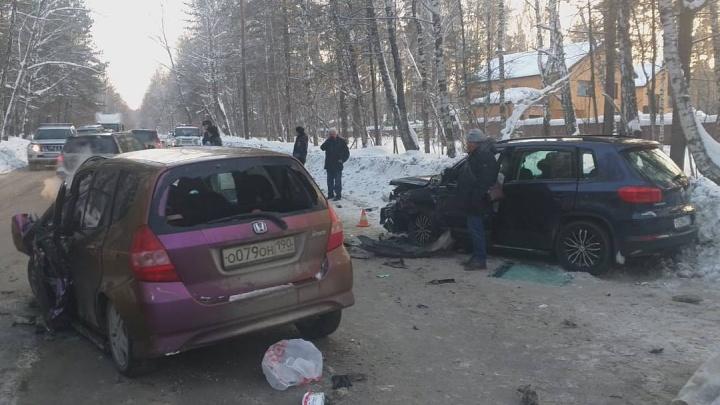 Число пострадавших в ДТП на Мочищенском шоссе, где погибла женщина, увеличилось до семи