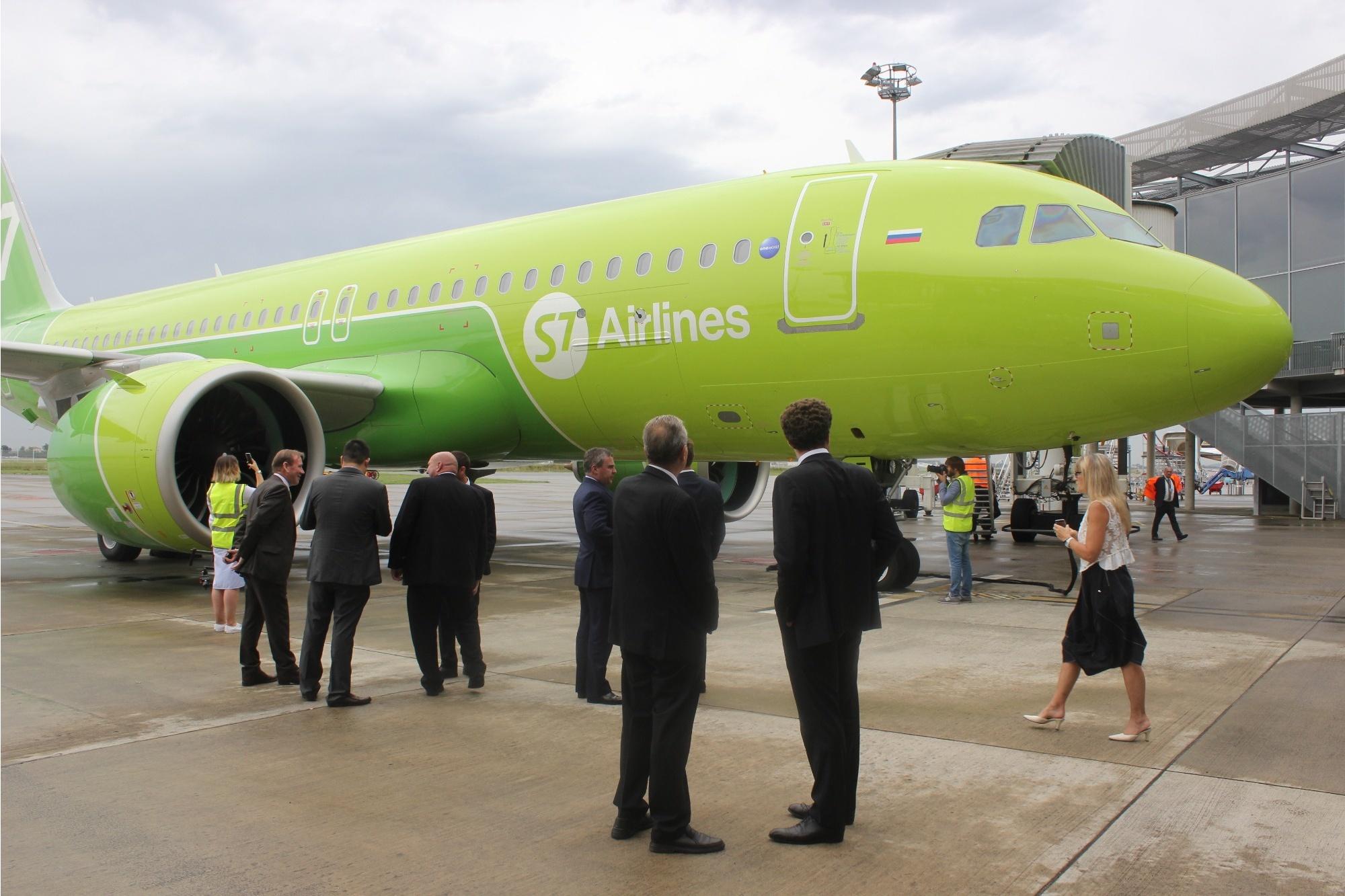 Новый самолёт