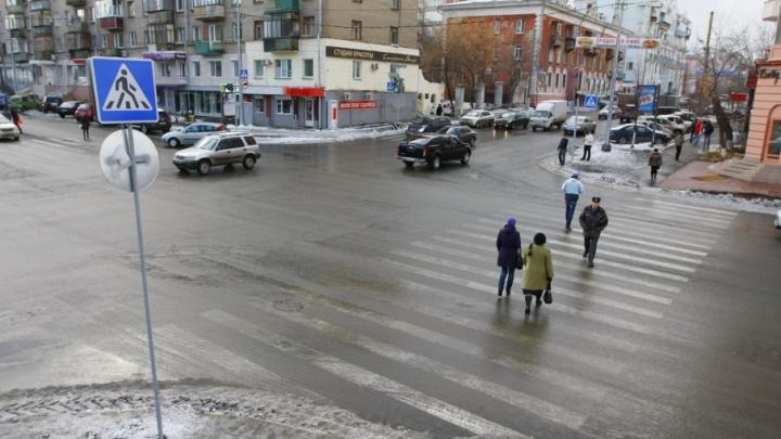 В Далматовском районе задавили женщину, которая переходила дорогу с ребенком