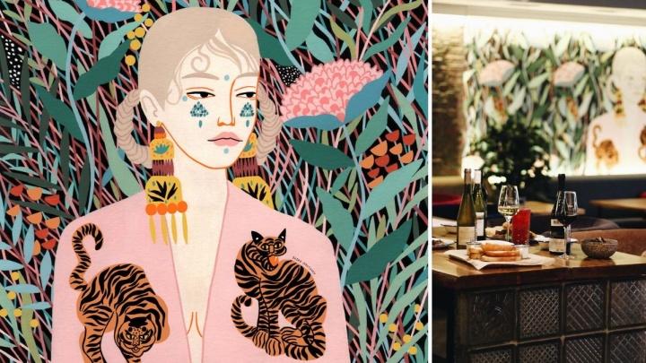«Мою картину украли». Иллюстратор из Германии нашла свою работу на стене тюменского ресторана