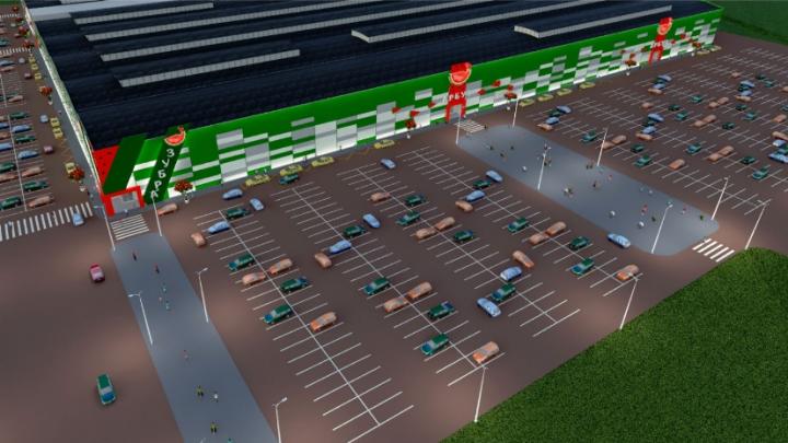 В Волгограде открылся торговый центр «Арбуз-Молл»