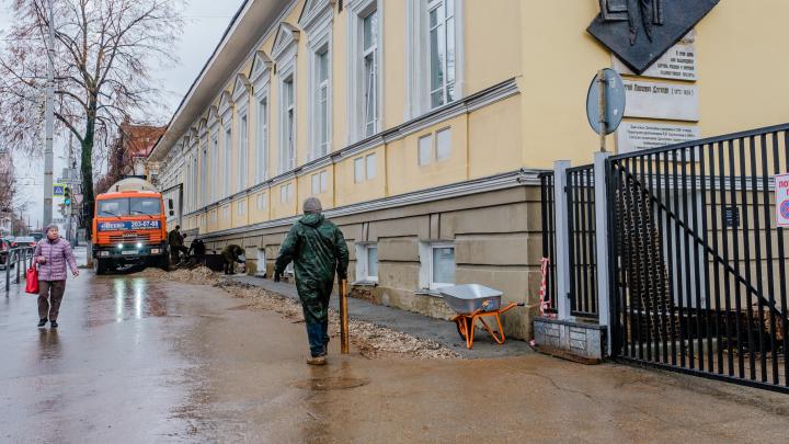 В Перми началась реставрация Дягилевской гимназии