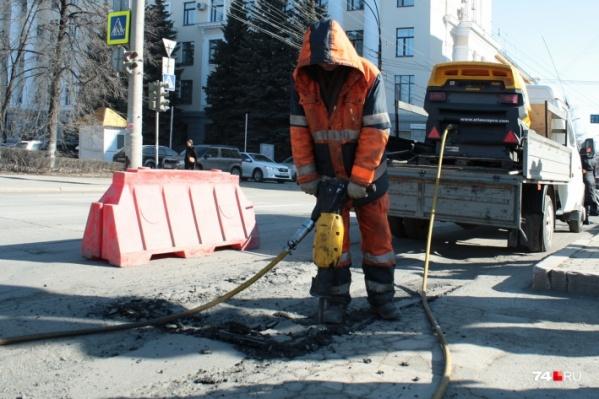 «Нижавтодорстрой» в этом году стал единственным участником торгов на ремонт 13 улиц Челябинска