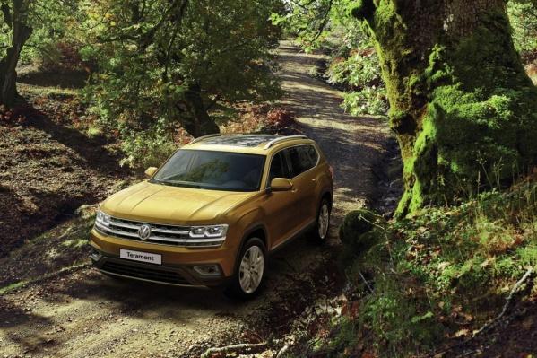 Teramont&nbsp;— самый большой из&nbsp;кроссоверов, которые когда-либо создавал Volkswagen<br>