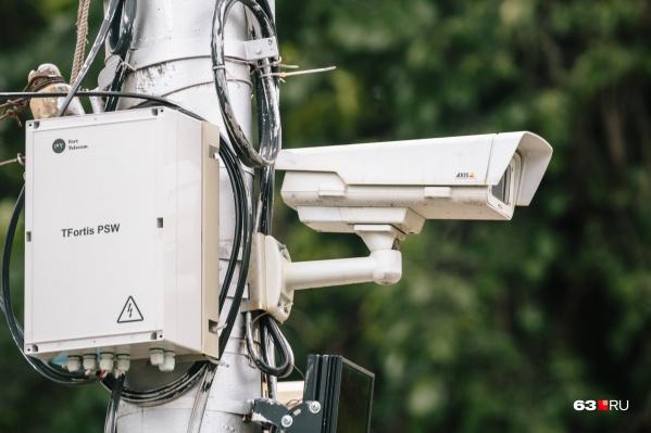 Системы видеонаблюдения будут размещать на столбах